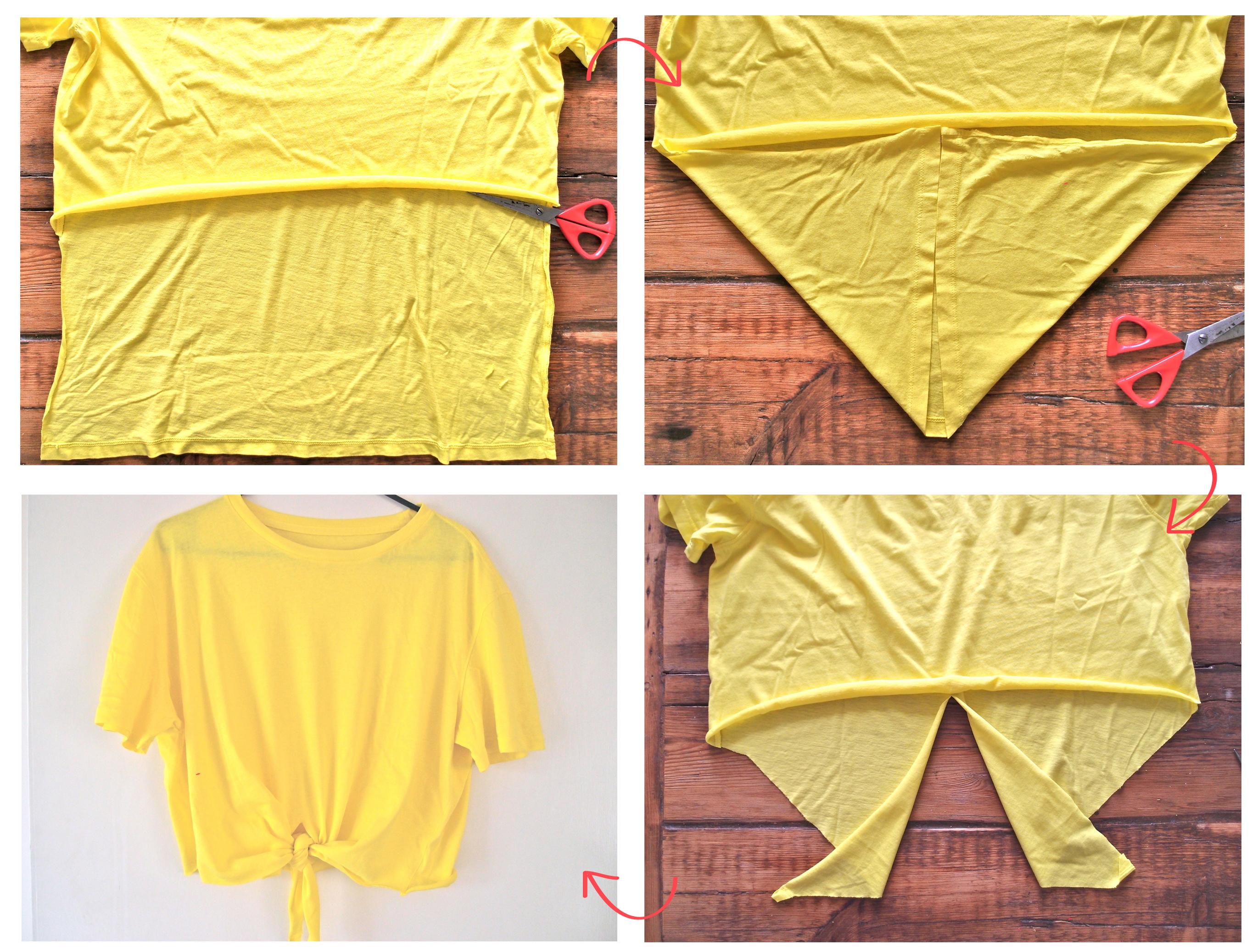 Как из футболки сделать майку борцовку